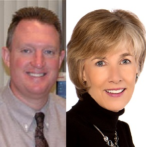 Carol Griffith and Mike Murphy